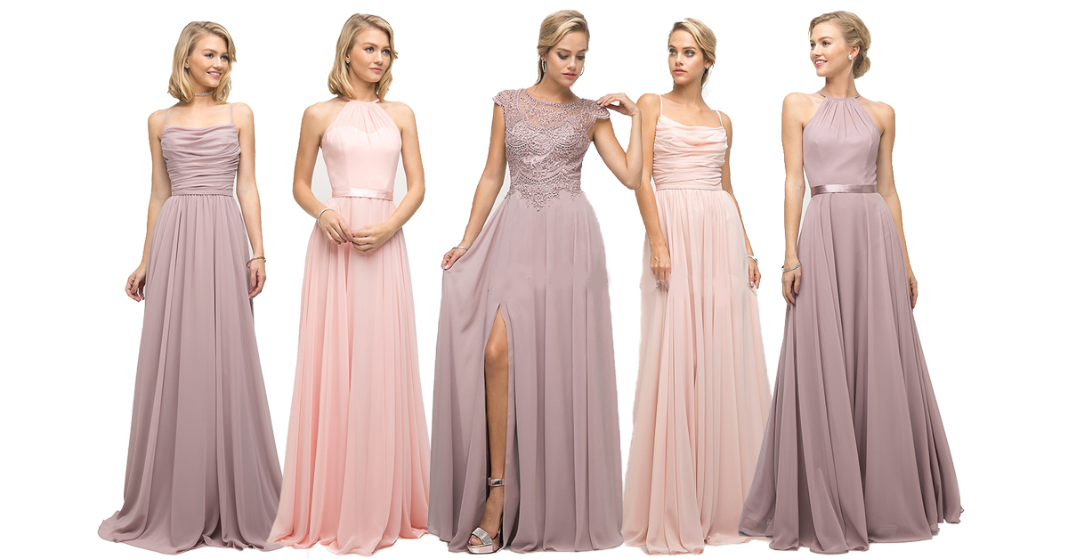 Jak vybrat šaty pro družičky 63cd9ad96d8